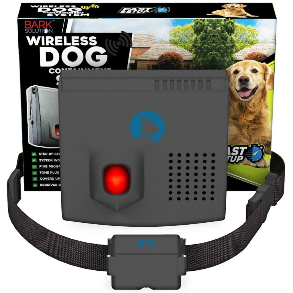 wireless dog fence reviews bark solution