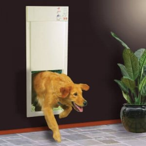High Tech Pet Door