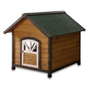 Pet Squeak Doggy Den Wooden Dog House
